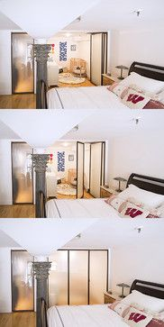 union Square Apartment bedroom modern bedroom