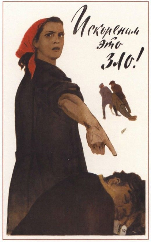 Soviet Anti-Alcohol Posters from the 1920s—60s:   soviet_anti-alcohol_posters_7_20120629_1141460904.jpeg