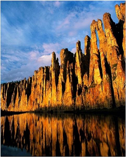 Lena Pillars, Siberia, Russia. UNESCO sight.