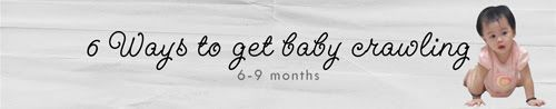 Infant milestones mark many proud moments in parenthood, from rolling over to saying two-word phrases. And, crawling is no exception. Learn how you can encourage Baby to get moving on all fours.