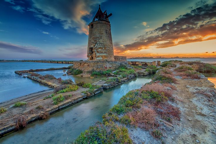 Old Mill on the road of salt by Francesco Alamia on 500px