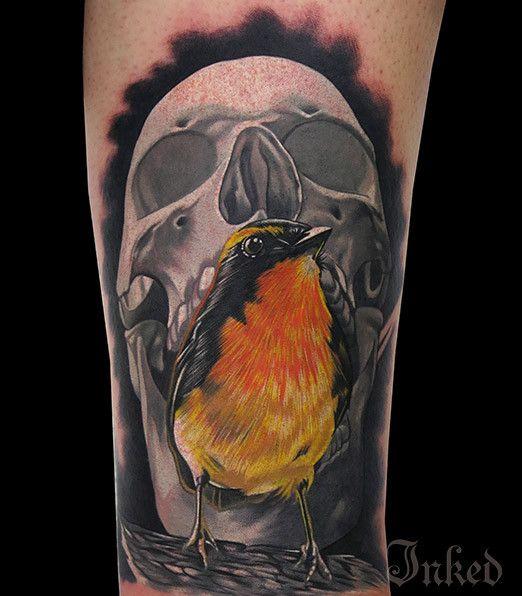 533 best Bird Tattoos images on Pinterest   Tattoo designs ... Birdman Head Tattoo
