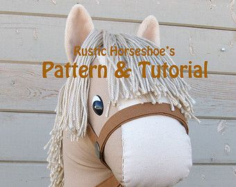 This is for the unicorn horn SUPPLEMENTAL pattern and tutorial ONLY. Stick Horse/Pony pattern is sold separately. This tutorial will provide a