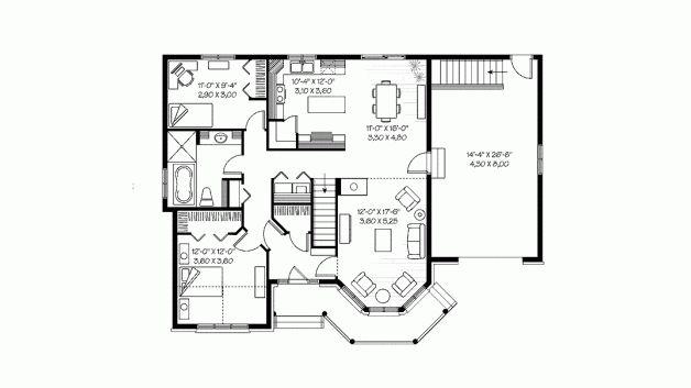18 best blue print images on pinterest house floor plans floor level 1 malvernweather Images