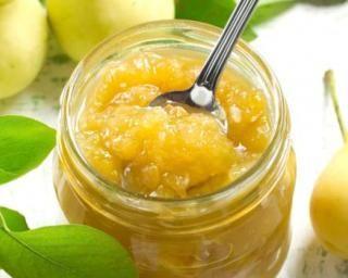 Confiture à la poire sucrée au sirop d'agave (I.G. bas) : http://www.fourchette-et-bikini.fr/recettes/recettes-minceur/confiture-la-poire-sucree-au-sirop-dagave-ig-bas.html
