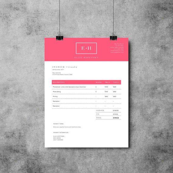 Invoice Template Design Receipt Ms Word Invoice Template Photoshop Invoice Template Printable Invoice Invoice Design Invoice Design Template Invoice Template