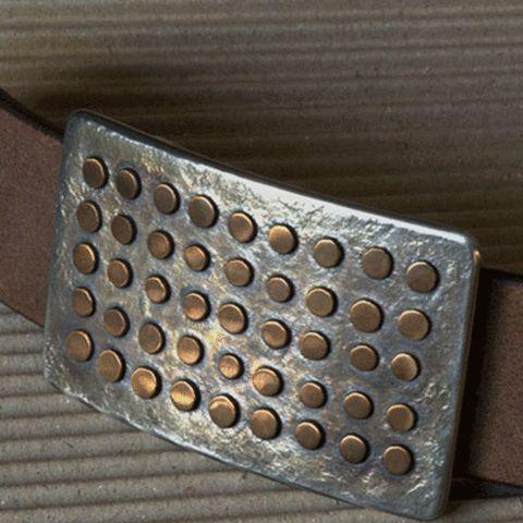 small polka dots belt buckle- my urbanware