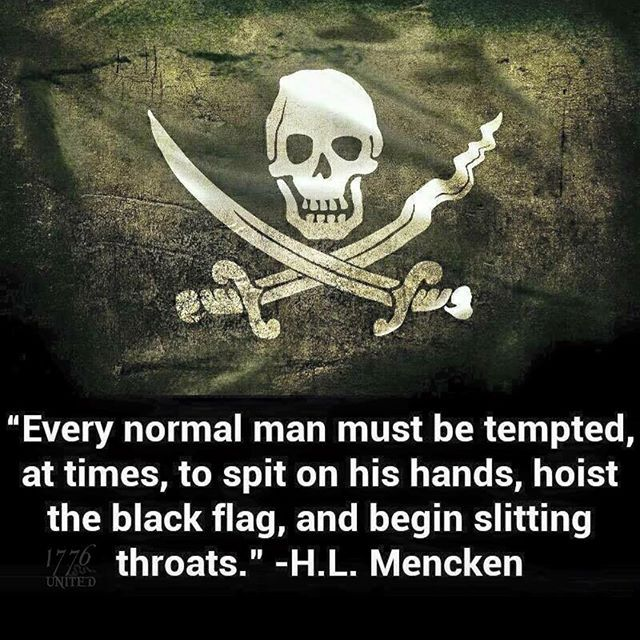 Quote By Hl Mencken: Best 25+ Pirate Flags Ideas On Pinterest