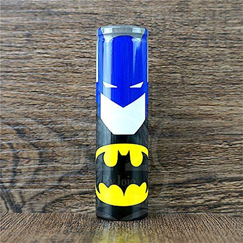 4-Pack Pre-Cut 18650 Battery Wraps Superhero Cover Protective Sleeve Heat Shrink Wrap (Batman (4-Pack)):   Please Apply Battery Wraps with Care! Always Apply Battery Wraps On Top Paper Insulation Gasket!! If you are unsure of how to Apply Battery Wraps, seek assistance at your local Vape Shop! And Remember Always Research Battery Care Before using Batteries! The pictures are professionally taken with sufficient lighting so as to show the colors properly. We do our very best to ensure t...