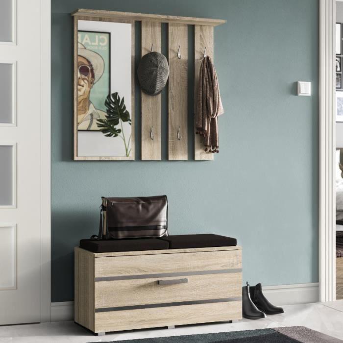 meuble d entree onyx 85 cm