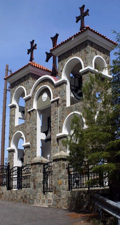 Kykkos Monastery, Troodos Mountains, Cyprus (by x4.Spawn on Flickr)