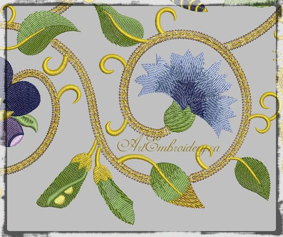 861 Best Embroidery Ideas Images On Pinterest | Embroidery Ideas Embroidery Machines And ...