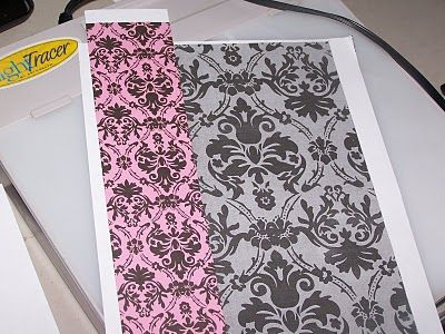 How to make your own stencil from paper or fabric