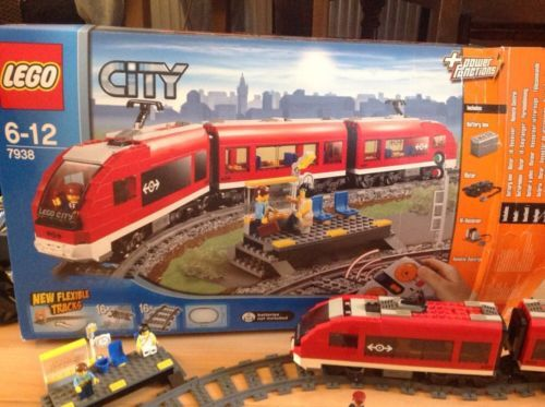 Lego 7938 #passenger train rc set #boxed with #instructions,  View more on the LINK: http://www.zeppy.io/product/gb/2/231987616873/