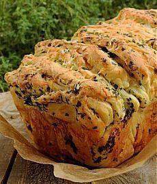 Рецепт отрывного хлеба | Банк кулинарных рецептов