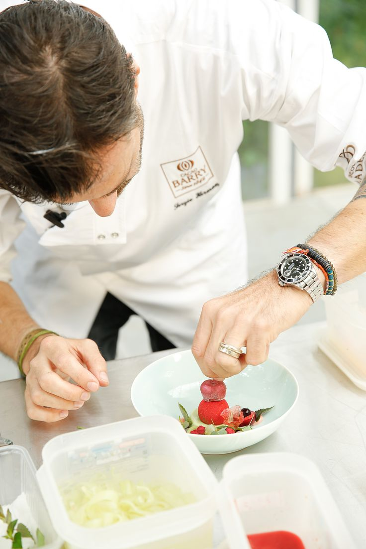 Behind the scene @SergioHerman #CacaoBarry #Creativeday #Purityfromnature #chocolate