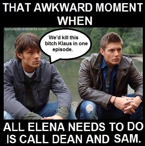 Supernatural vs. Vampire Diaries
