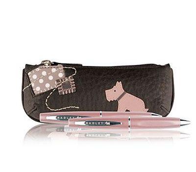 Radley Pencil Case and Pen