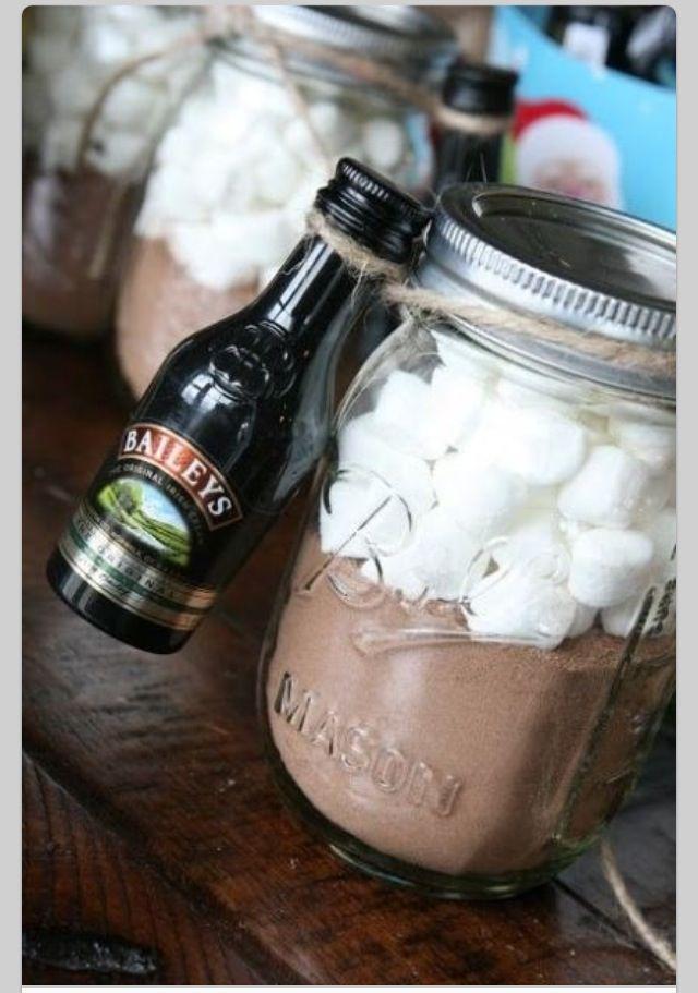 Hot Chocolate in a Jar