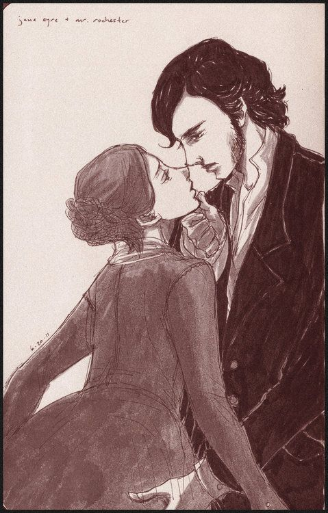 """""""All my heart is yours, sir: it belongs to you; and with you it would remain, were fate to exile the rest of me from your presence forever.""""    -Charlotte Bronte, Jane Eyre"""