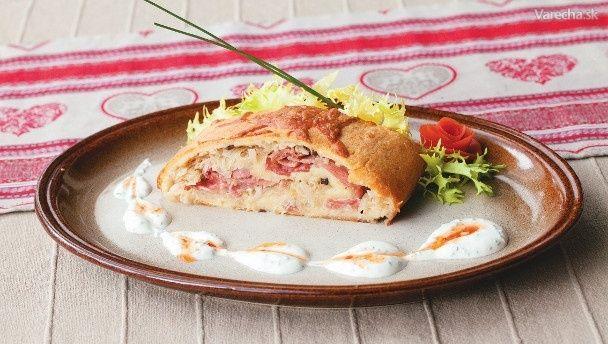 Liptovský zemiakový závin s kapustou