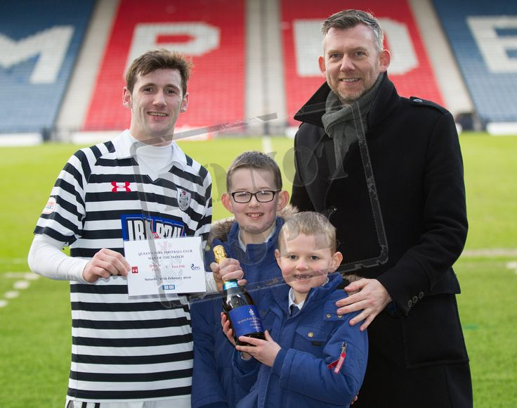 Queen's Park's John Carter - man of the Match after the SPFL League Two game between Queen's Park and East Fife.