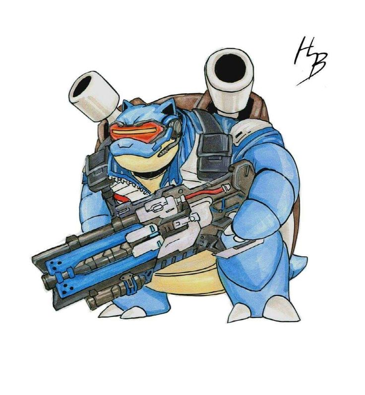 Artist Combines 'Pokemon' And 'Overwatch' To Create Adorable Heroes