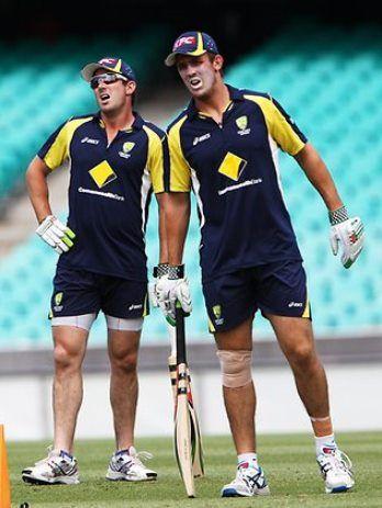 Shaun and Mitchell Marsh (cricket)