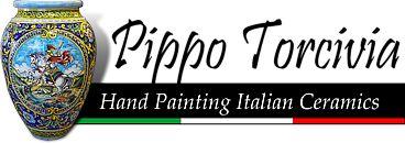 Pippo Torcivia:  Hand Painting italian Ceramics