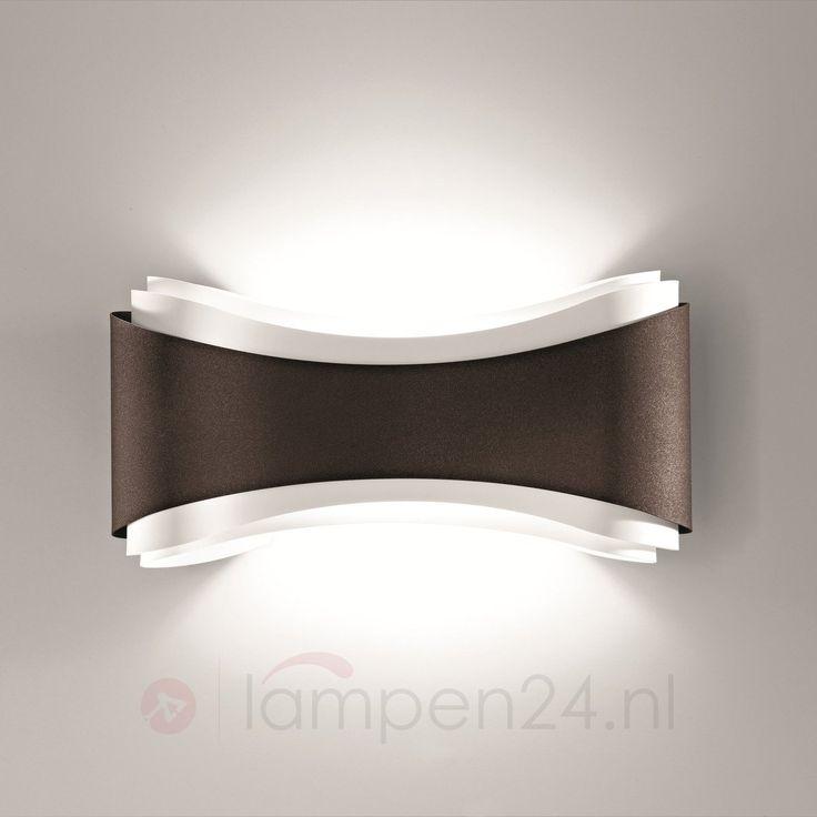 Bronskleurige design-wandlamp Ionica 8525692
