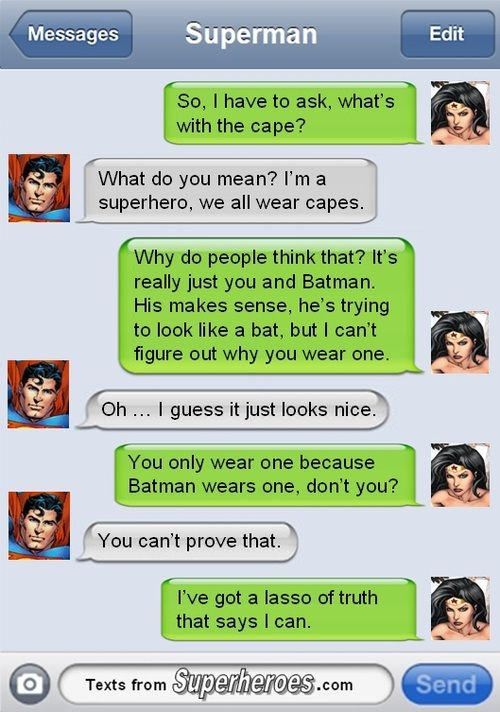 Why Superman Wears a Cape.