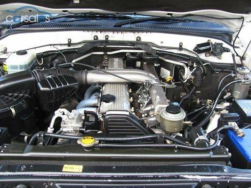 1999 Toyota Landcruiser HZJ105R Snowy GXL