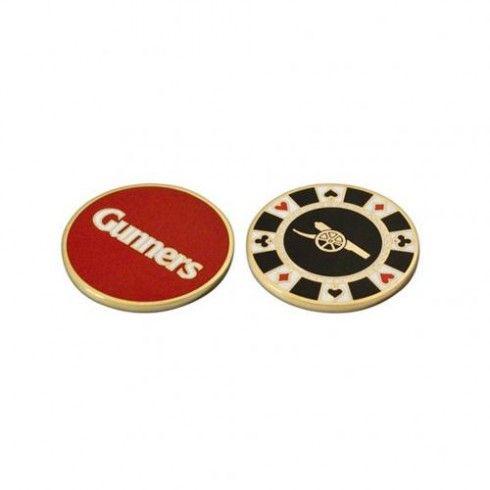 Arsenal F.C. Casino Chip Ball Marker