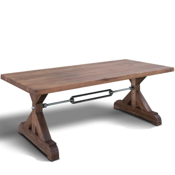 Best  Industrial Style Dining Table Ideas On Pinterest - Industrial dining room table
