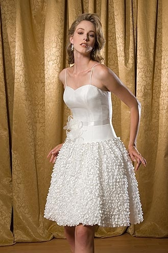 short bride dresses
