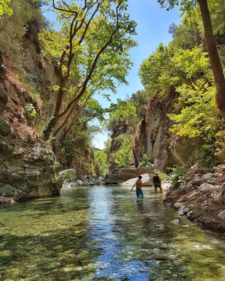 Şahin Deresi Kanyonu Altınoluk by İLKİN BABAYİĞİT