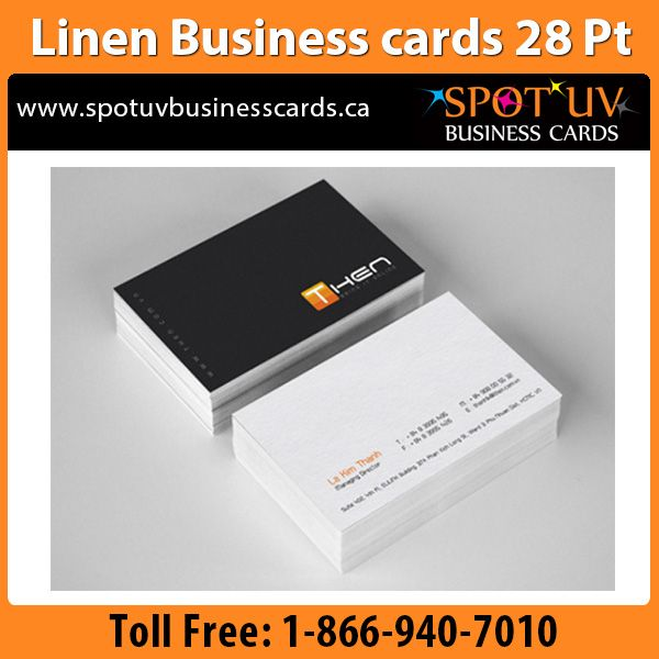 Best 21 linen business cards linen finish cards images for Business cards canada