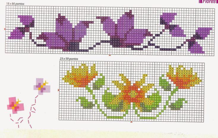 Quem não gosta de flores? Adoro toalhas bordadas com flores... alegram e são um charme!   Mas confesso que sou bem preguiçosa com aqueles ...