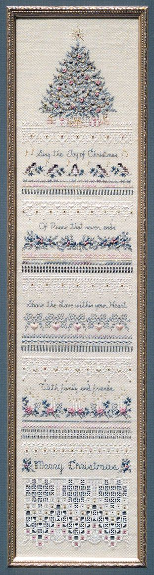 The Victoria Sampler - Heirloom Christmas - Heirloom Sampler no. 5