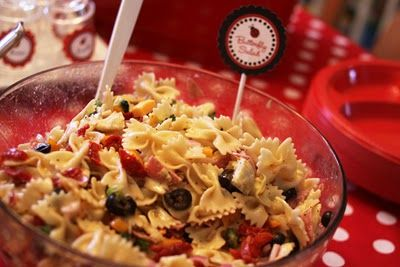 The Larson Lingo: Claire's Ladybug Party Food Ideas