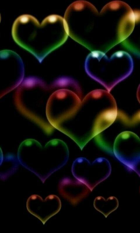 Bubble hearts