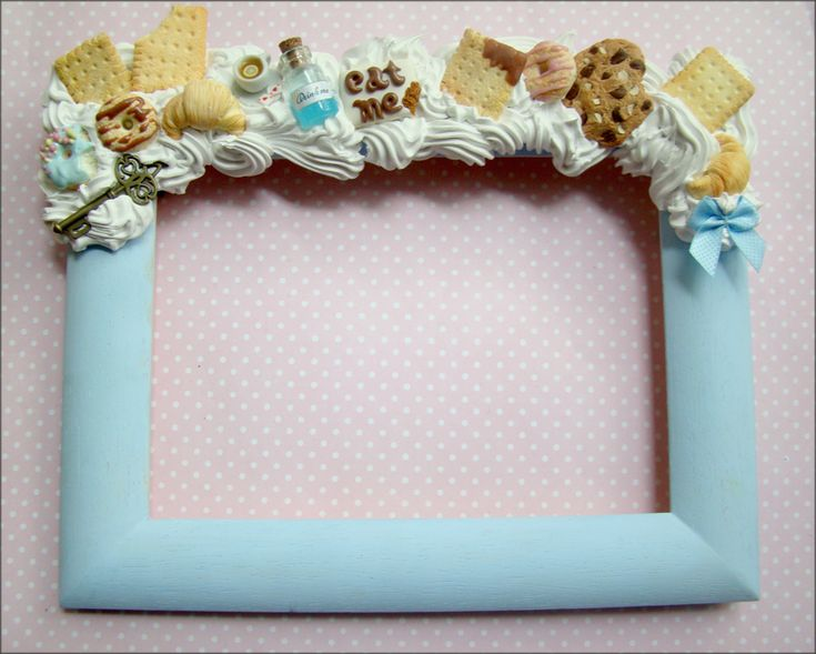 Picture Frame Alice in Wonderland by ~SlodkieBlyskotki on deviantART