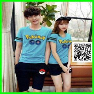 kaos couple stelan pokemon go MTFA10 2