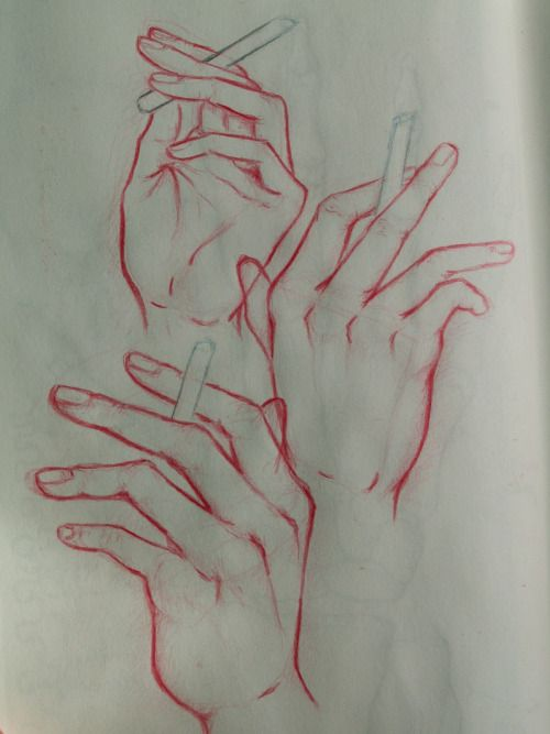 hands by monocore mncore.tumblr.com  #illustration #drawing #hands #sketch #sketchbook