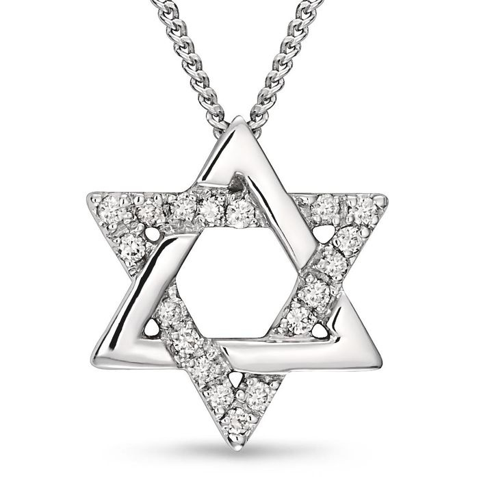 star of david necklace | star of david pendant