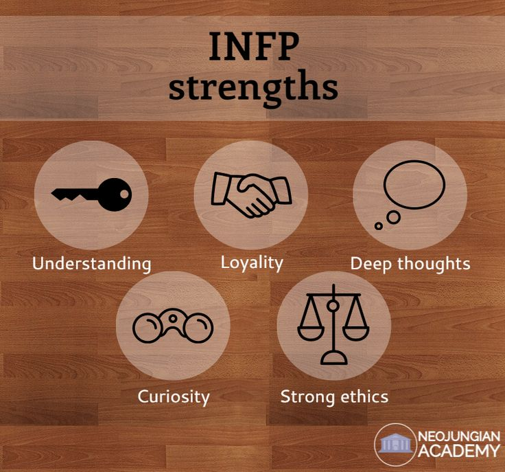 Meet the INFP INFPs are blessed with the perspective of a healer. Their primary desire to remain pure and true to themselves and their own way. Gifted with the ability of deep storytelling, they can