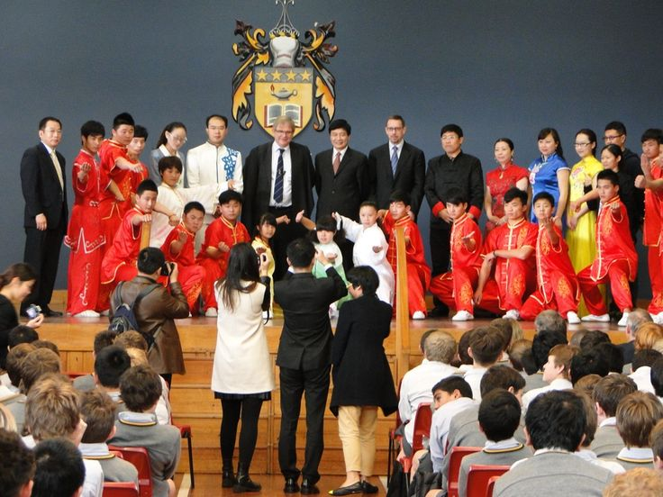 Confucius Institute at VUW has recently celebrated the opening of two Confucius Classrooms, at Wellington College and Wanganui High School.