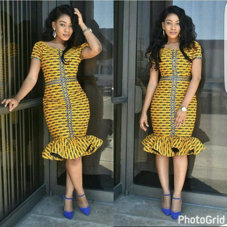 Ankara style 2017 latest and modern gowns tops dresses Latest fashion gown style