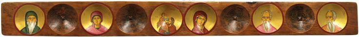 Αγιογραφία σε ξύλο Διά χειρός Μαρίας Παναγή