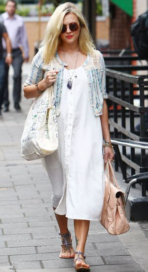 fearne cotton pregnant style - Love this dress